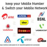 How to Change Mobile Service Provider Without changing Number Airtel BSNL