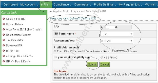 Income tax efiling | Login Step by step procedure Guide India