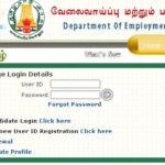 Tamilnadu Employment Exchange Online Renewal Procedure - TN Velaivaippu