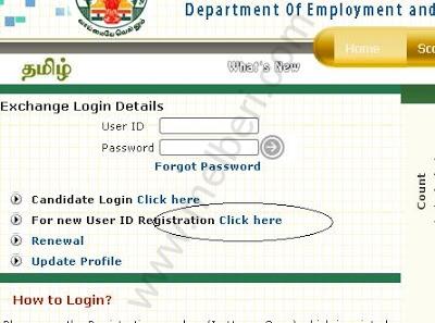 Tamilnadu Employment Online