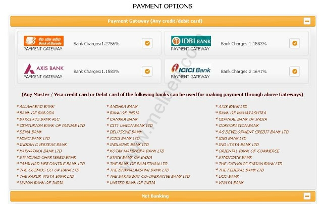 TNEB Bill Payment Options Credit Card Gateway