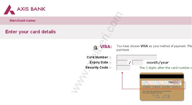 TNEB Payment Through Axis Bank Gateway